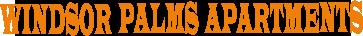 Windsor Palms Apartments Logo